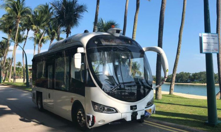 First on-demand autonomous shuttle trial opens to the public