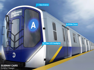 MTA to acquire 1,025 subway cars for New York