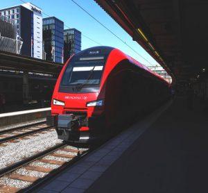 MTR Express train in Stockholm Sweden