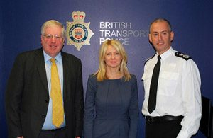 McVey appointed Chair of British Transport Police Authority