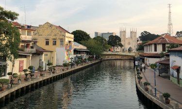 Heritage Centre in Melaka by the river