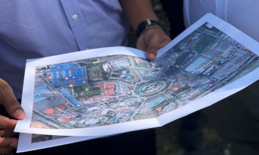 Map of Melaka from a Programme site visit