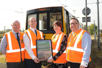 Metro on track for a more sustainable future after lowering carbon emissions