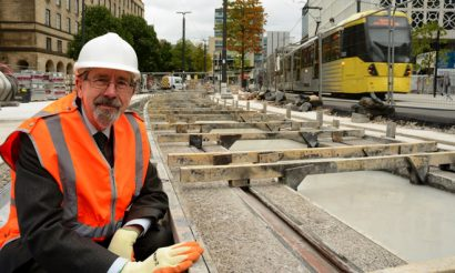 Final tracks laid for Metrolink Second City Crossing