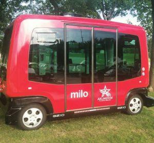 Autonomous shuttles Texas