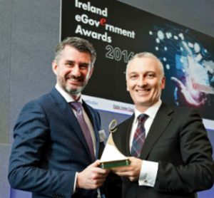 Realtime MultiModal Passenger App (RTPI) developed by opensky for Irelands National Transport Authority is overall winner at the eGovernment Awards