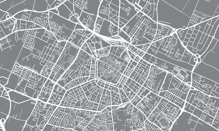 Efficient distribution of big data analytics for urban mobility applications