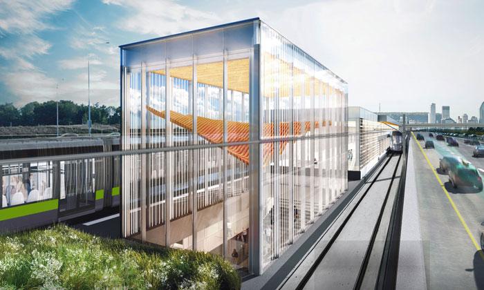 The Réseau express métropolitain project has launched