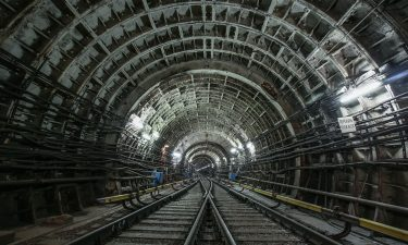 Moscow tunnel