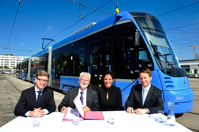 Munich to welcome a further 22 Avenio trams