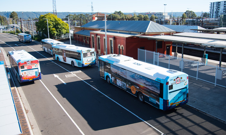 bus station in NSW
