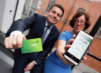 NTA Ireland launch Leap Card app for NFC enabled phones