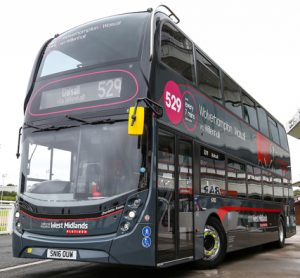 National Express invests £8m towards 46 Platinum buses in the Black Country