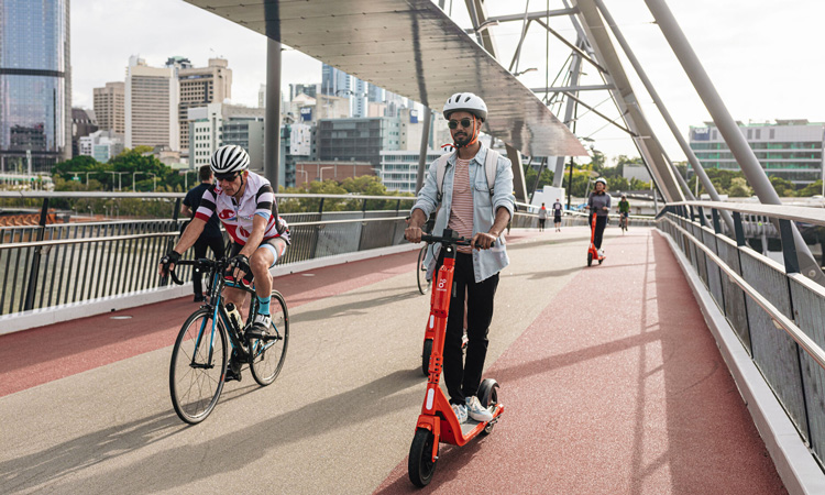 E-scooters: adapting to the new normal