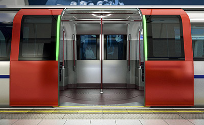 New Tube for London trains