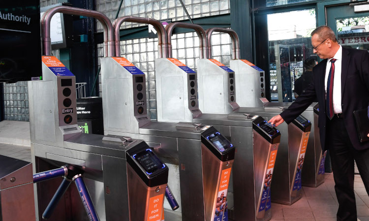 MTA New York City Transit Vice President - Chief Revenue Officer Al Putre gives an update about the expansion of the OMNY fare payment system