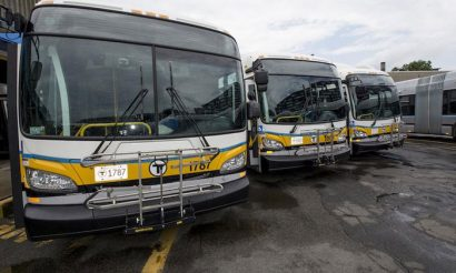 345 new buses added to MBTA's service fleet in Boston