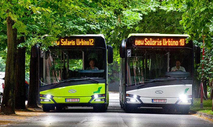 150 Solaris buses for Lithuania's capital, Vilnius
