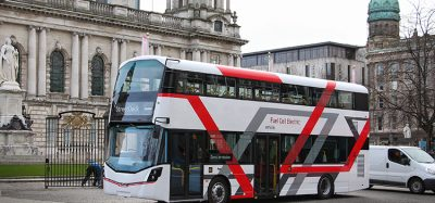 More than £10 million has been invested into hydrogen-powered buses in Northern Ireland Credit: APC