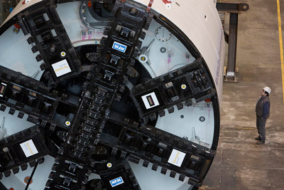 Northern Line Extension tunnel boring machines unveiled