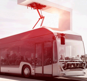 Different electric bus models charged by same infrastructure in Norway