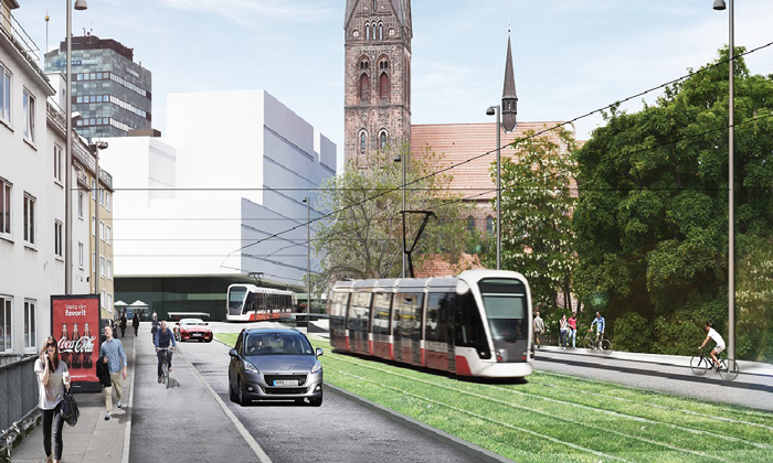 Odense Light Rail in Denmark awards construction tender