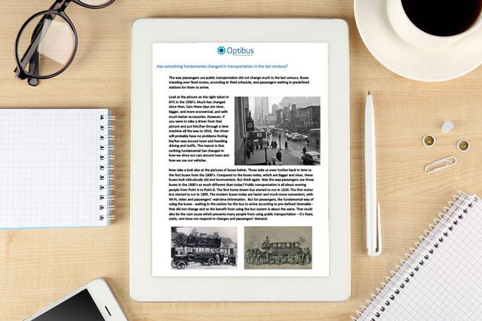 Optibus whitepaper: dynamic scheduling for the autonomous public transport era