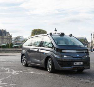 NAVYA unveils first fully autonomous taxi