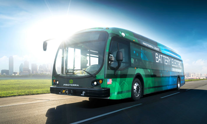 SporTran and Proterra deploy Louisiana's first battery-electric buses