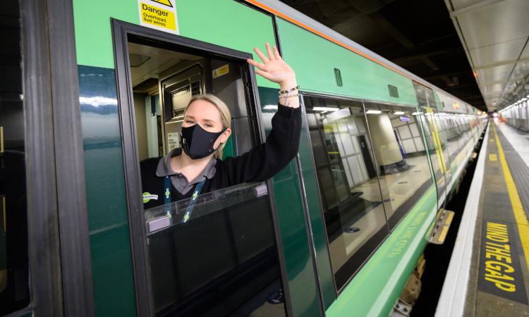 Paige Lunn, a GTR female train driver applicant from 2017