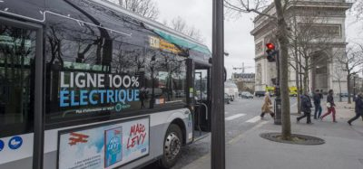Electric bus in Île-de-France