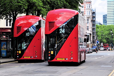 Passenger watchdog reveals average speed of London buses