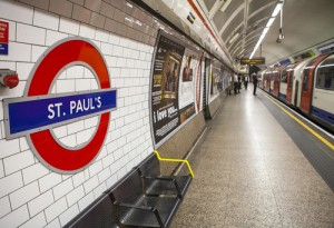 Passengers benefit from Tube fan cooling system