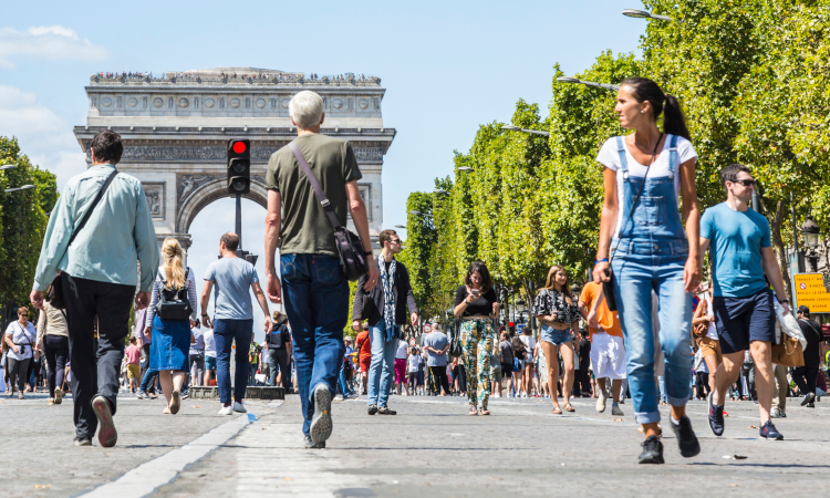 Paris neighbourhoods are increasingly well known for their walkability as part of Mayor Hidalgo's mobility plan