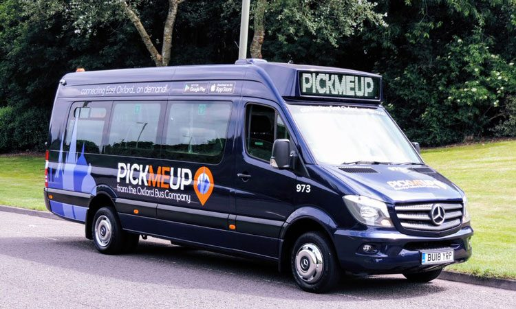 Demand-responsive bus service set for expansion in Britain