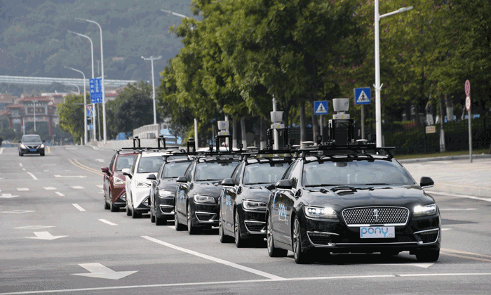 Autonomous ride-sharing fleet launched in China