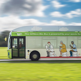 Journey of the Green Bus: from pollution problem to city