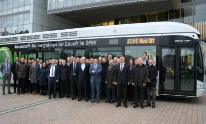 Project JIVE launch enables large scale deployment of hydrogen fuel cell buses