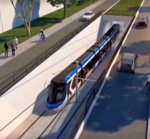 Trudeau pledges $1.2 billion to Quebec public transport network