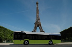 RATP orders new Urbino 12 electric bus for Paris