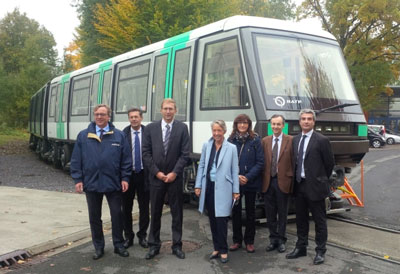 RATP welcomes final train of the MP05 metro contract