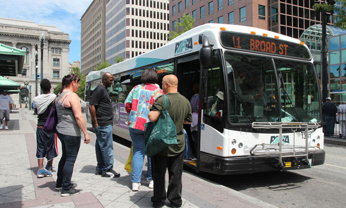 Rhode Island's fleet of 240 buses will receive electronic fare system