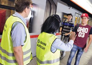 The role of staff in public transport security