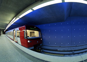 RUBIN - fully automated metro in Nuremberg