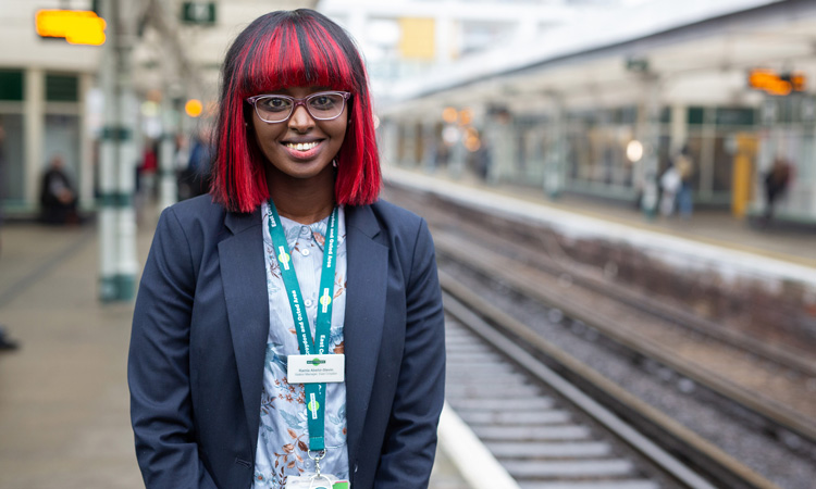 Ramla Abshir-Slevin, Apprentice Station Manager with GTR