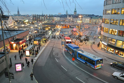 Real-time information improves Stockholm bus passenger satisfaction