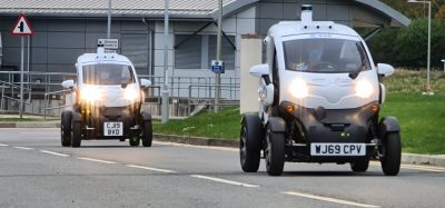 Renault TWIZY vehicles being tested at O2 UK 5G satellite lab