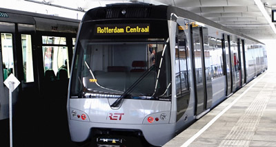 Rotterdam orders six additional Light Rail Vehicles for metro system