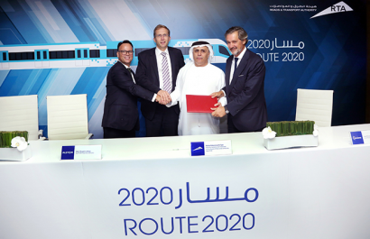 Consortium to design and build Dubai's Route 2020