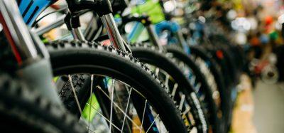 Bikes in a bike shop which remains open despite COVID-19